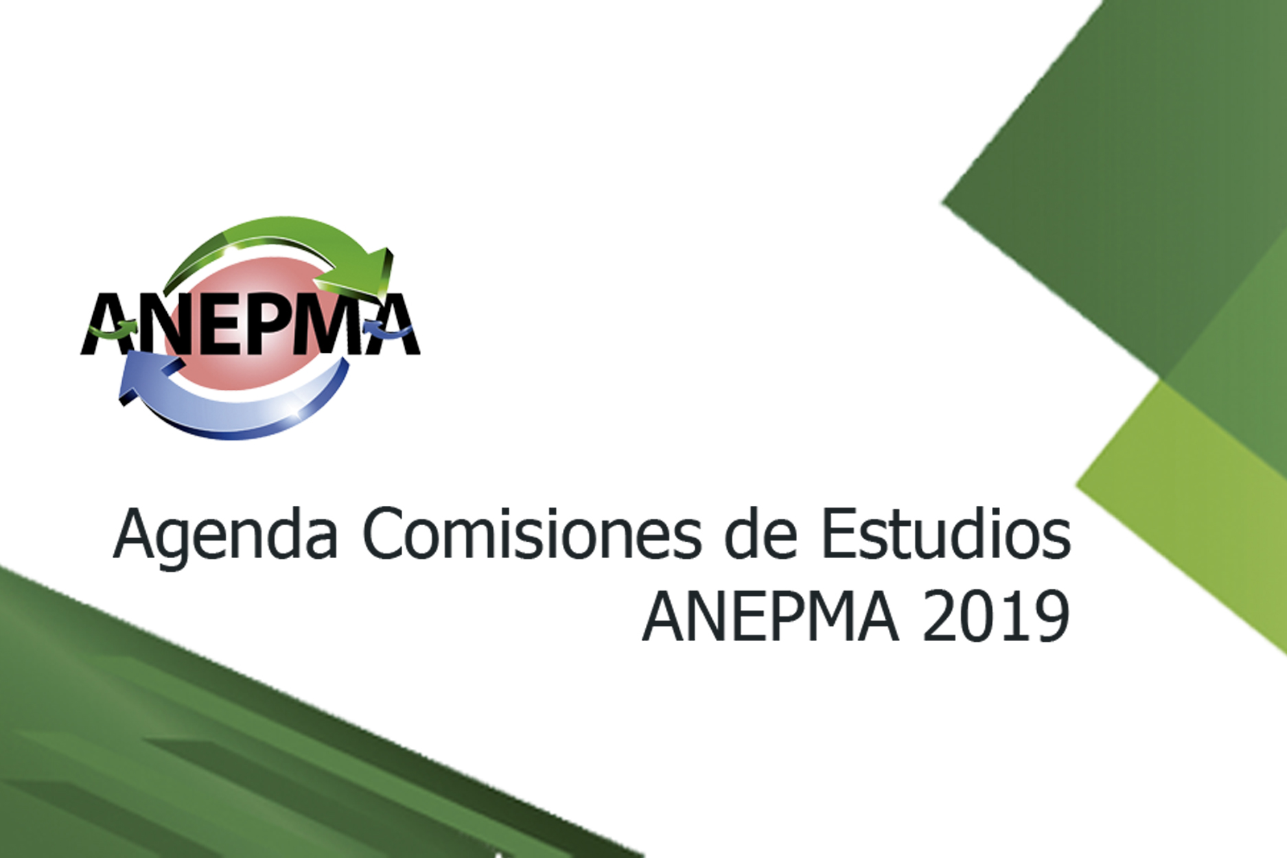 PORTADA Agenda Comisiones 2019