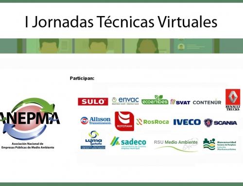 Programa I Jornadas Técnicas Virtuales ANEPMA Empresas Asociadas