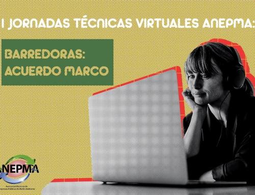 I Jornadas Técnicas Virtuales ANEPMA: Barredoras: Acuerdo Marco