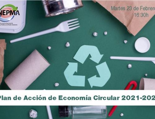Seminario Webinar sobre el I Plan de Acción de Economía Circular 2021-2023