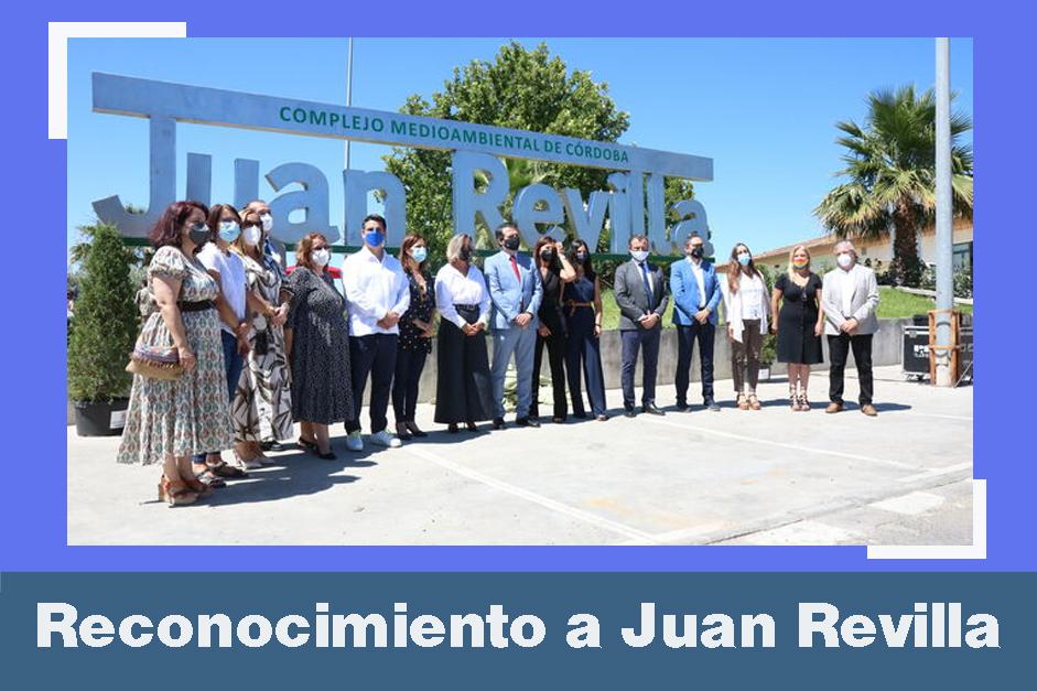 Foto de familia del homenaje a Juan Revilla. / EL DÍA