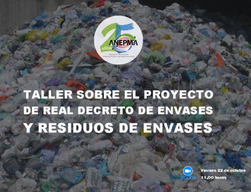 Taller sobre el Proyecto de Real Decreto de Envases y Residuos de Envases